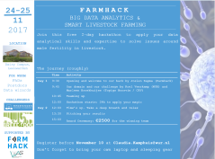 Program FarmHack 24-25 November 2017